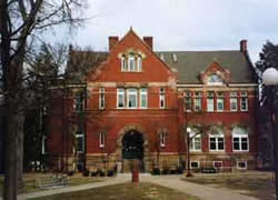 Old Campus, Wheeler Hall
